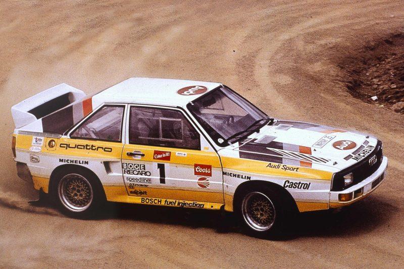 BestDrive - Audi Quattro Rallye 1985
