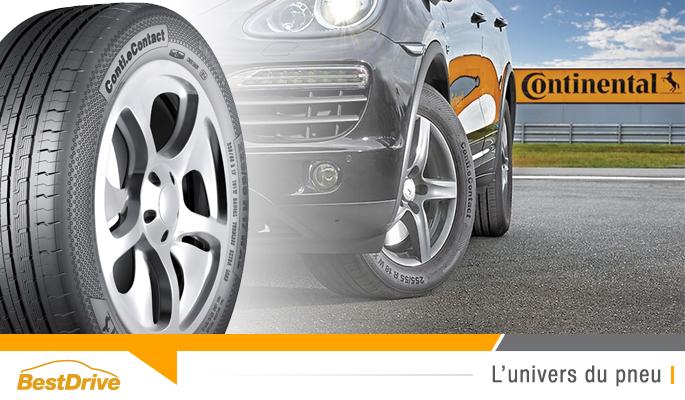 BestDrive - Continental Conti.eContact ContiSilent pneu pour voiture hybride