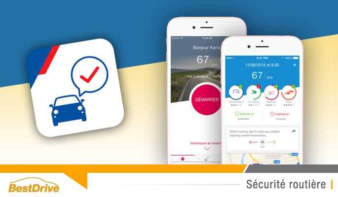 BestDrive - Appli Axa Drive 2 conseils pour améliorer votre conduite