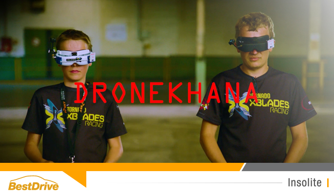 BestDrive - Ford Dronekhana One course de drônes