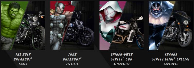 BestDrive - Harley Davidson x Marvel 01