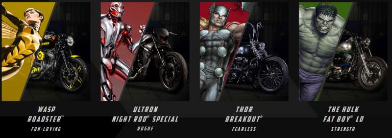 BestDrive - Harley Davidson x Marvel 02