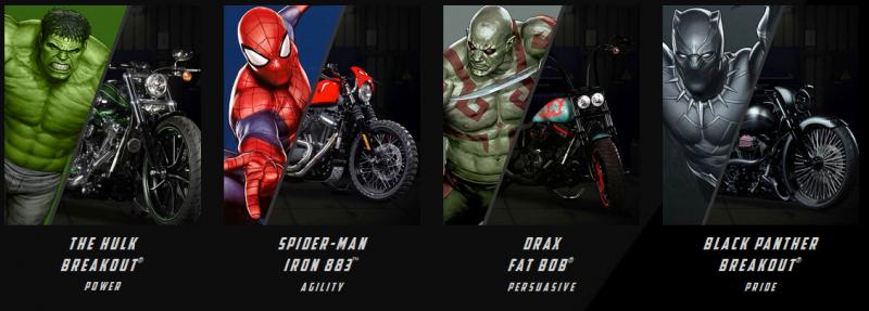 BestDrive - Harley Davidson x Marvel 04