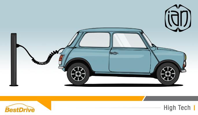 BestDrive - La start up Ian Motion électrifie les vieilles voitures