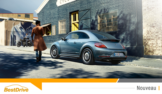 BestDrive - Nouvelle Volkswagen Beetle 2016 édition spéciale Denim