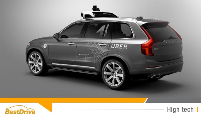BestDrive - Volvo et Uber travaillent sur la voiture autonome de demain 00