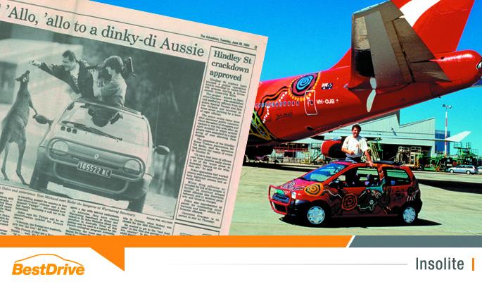 BestDrive - Twingo Balarinji Jean Dulon patrimoine australien