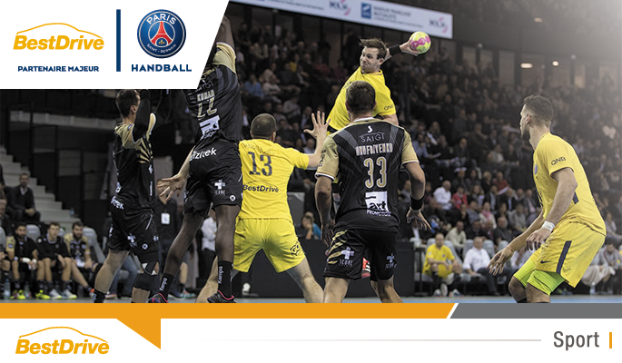 Match Aix-en-Provence - Paris Saint-Germain Handball - Championnat de France de handball masculin 2017-2018