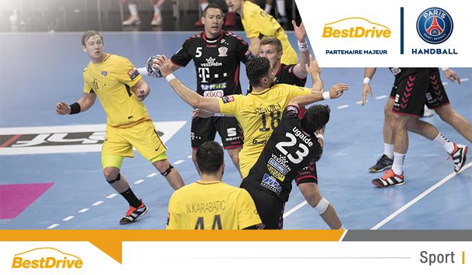 Le paris saint germain handball arrache la victoire - Coupe d europe de handball ...