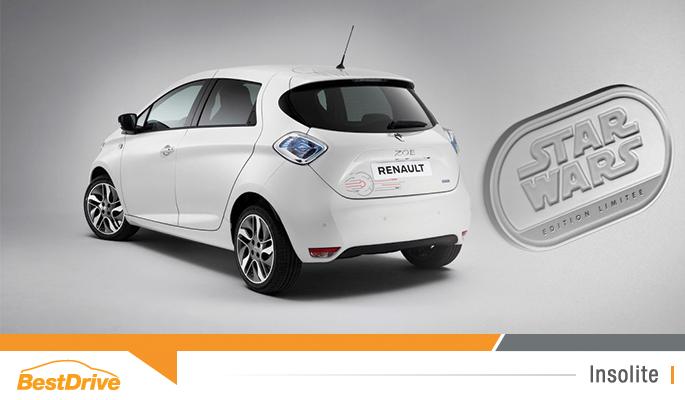 Renault Zoé Star Wars 100% électrique