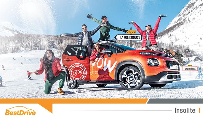 """Citroën s'installe à """"La Folie Douce"""" pour l'hiver 2018"""