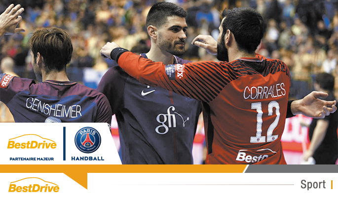 Coupe d'Europe de handball 2017-2018 - Celje - Paris Saint-Germain Handball