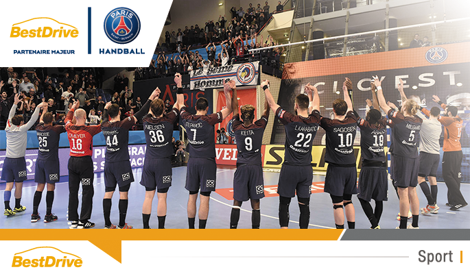 Coupe d'Europe de handball masculin 2017-2018 : Paris Saint-Germain Handball - Flensburg