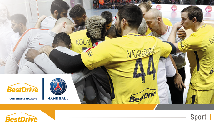 Coupe de France de Handball masculin 2017 - 2018 : Ajaccio - Paris Saint-Germain Handball