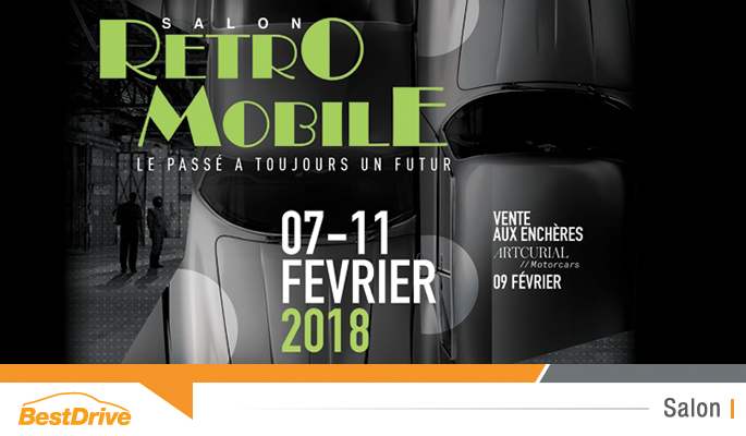 Reportage photos Retromobile 2018