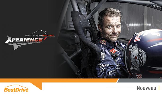 Ouverture Sébastien Loeb Racing Xperience Futuroscope