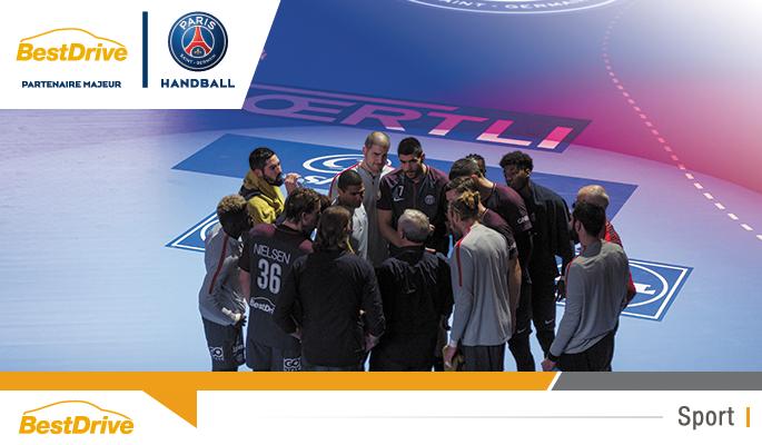 BestDrive partenaire majeur du Paris Saint-Germain Handball