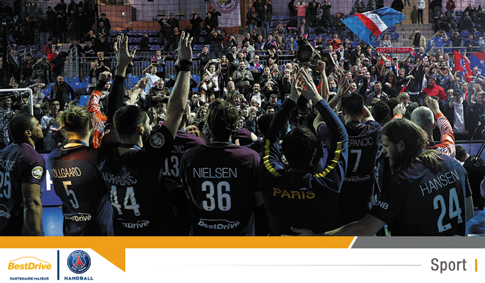 Le Paris Saint-Germain Handball remporte la Coupe de la Ligue de handball masculin 2018