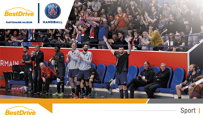 Paris Saint-Germain Handball - Tremblay quart de finale de Coupe de France de handball masculin