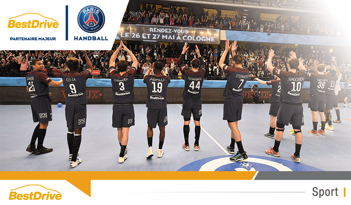 Paris Saint-Germain Handball - Kielce : quart de finale retour de Coupe d'Europe de handball masculin