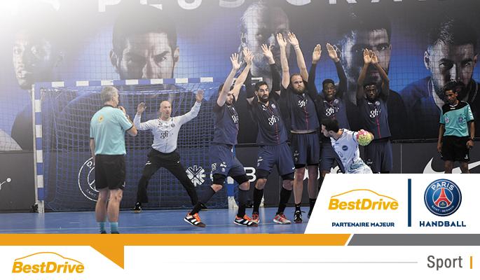 BestDrive partenaire majeur du Paris Saint-Germain handball saison 2017-2018