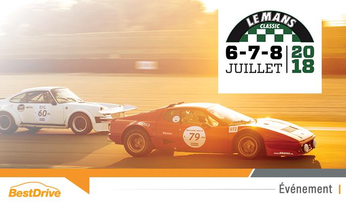 BestDrive - Reportage photos Le Mans Classic 2018