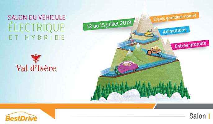 Reportage photos au Salon du véhicule électrique et hybride de Val d'Isère 2018